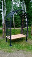 Wedding Arbour/Trellis on display