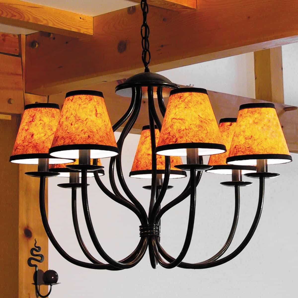 SC-02 Chandelier Lampshade – Amber