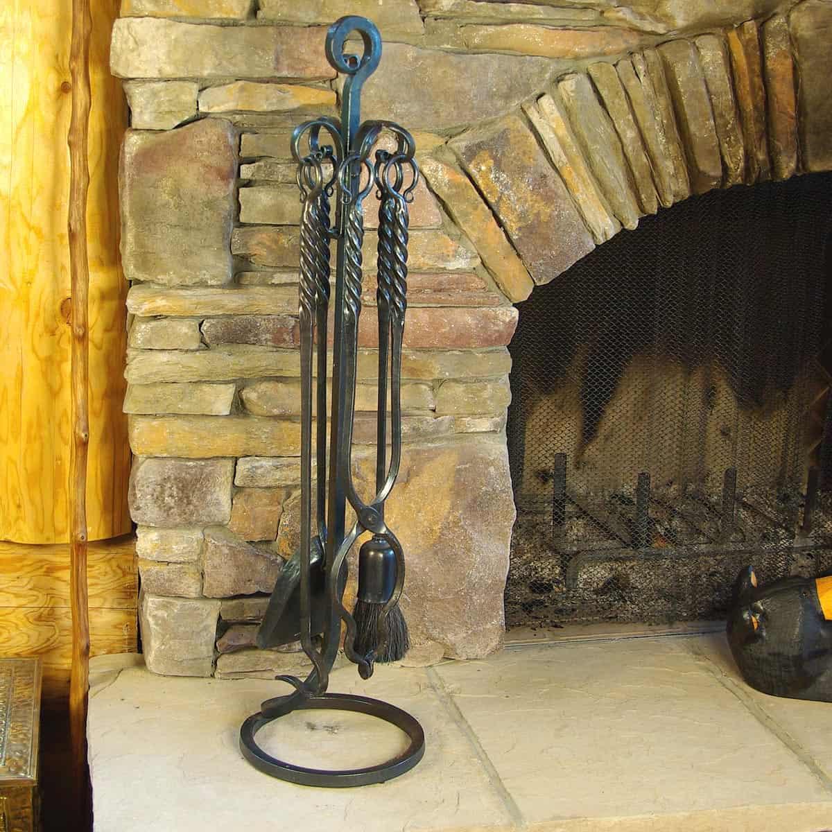 WH-D3L Fireplace Set