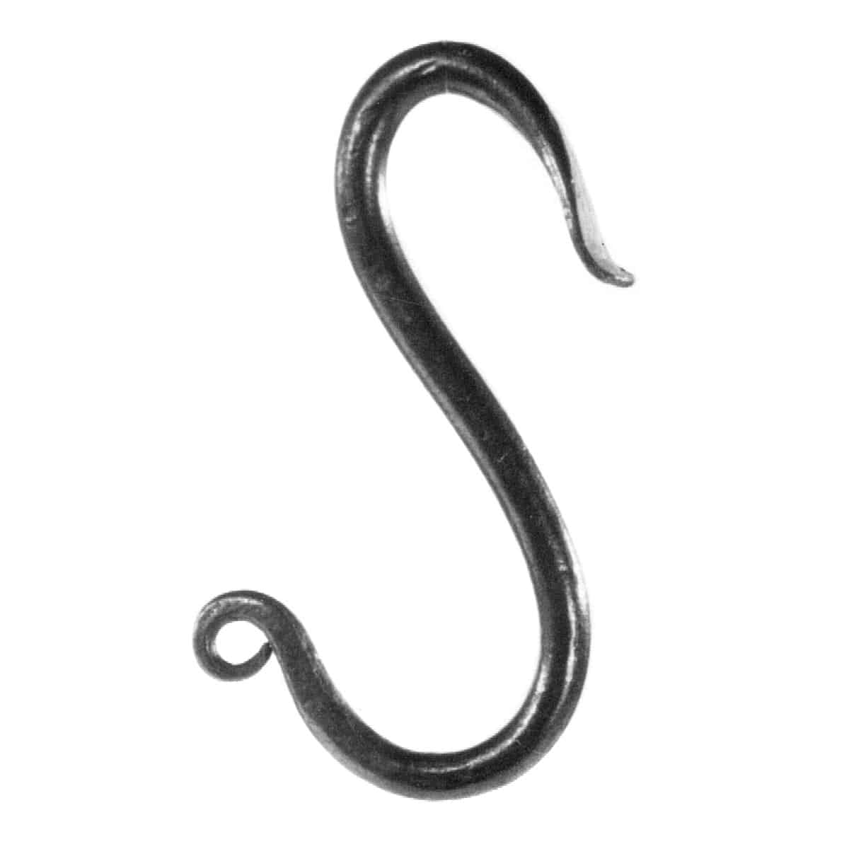 """S"" Hook, small"