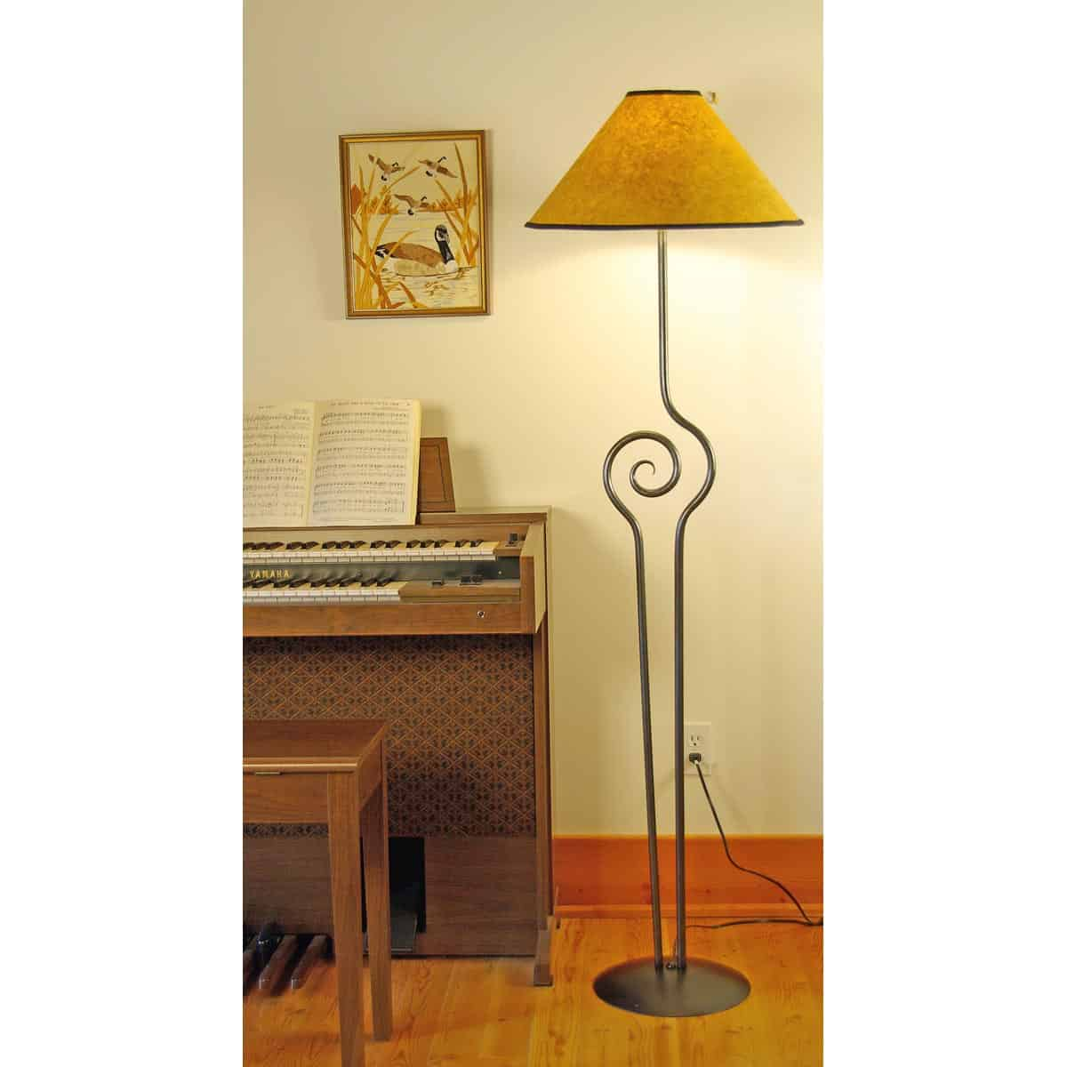 Cyclone Floor Lamp, plain
