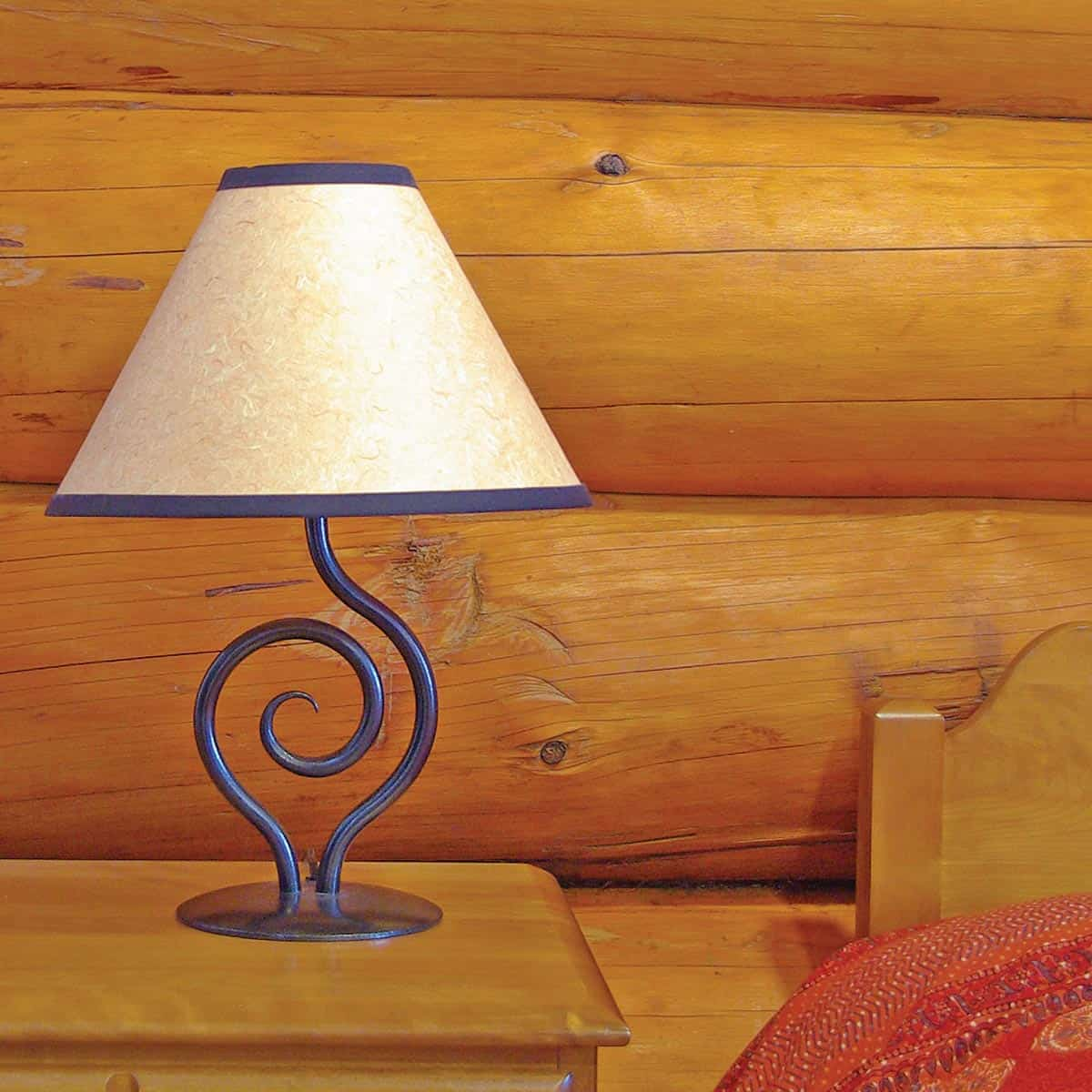 Cyclone Bedside/Desk Lamp