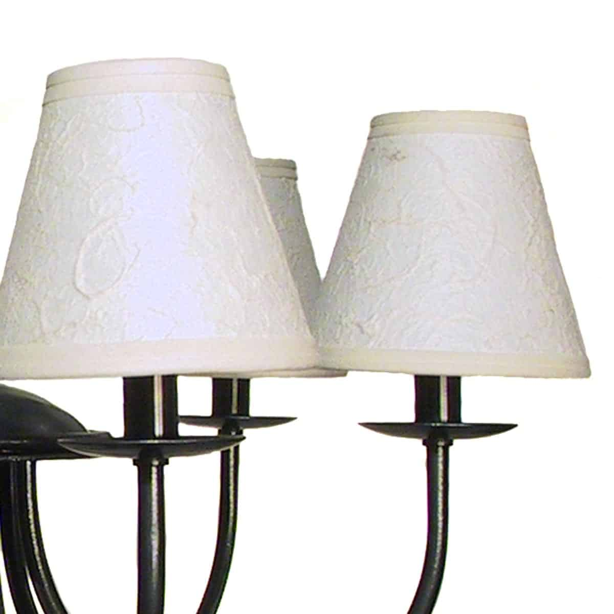 SC-01 Chandelier Shade, Ivory