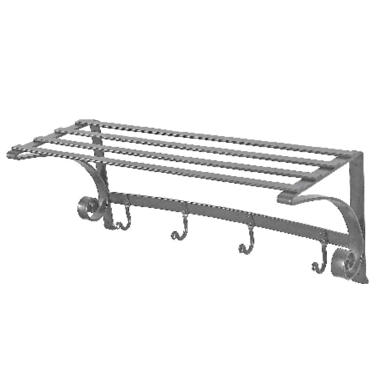 Shelf Unit with Hooks