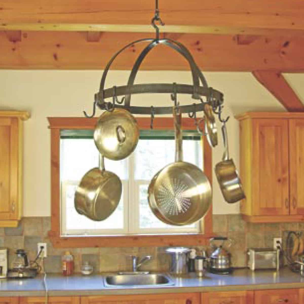 Traditional Round Pot Rack