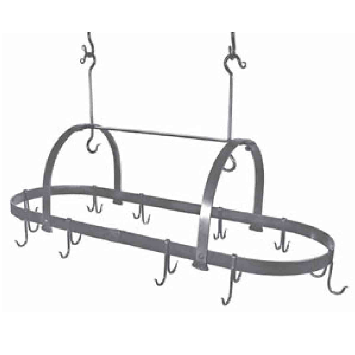 Oval Pot Rack, no bars